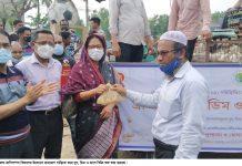 কমলগঞ্জে ভ্রাম্যমাণ দুধ ডিম মাংস বিক্রি শুরু