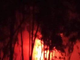 বাহুবল বড়গাঁও গ্যাস ফিল্ডে ভয়াবহ অগ্নিকান্ড,আগুন নিয়ন্ত্রনে