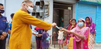 শ্রীমঙ্গলে ৪শ' পরিবারে ড. আব্দুস শহীদ এমপি'র ঈদ সামগ্রী ও নগদ অর্থ বিতরণ