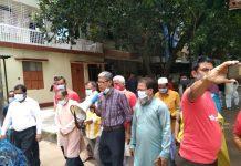 পল্লবী থানা এলাকায় শহীদ রাসেল ব্রিগেডের করোনা সচেতনতা প্রচারণা