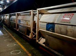 বেনাপোল দিয়ে ভারতীয় রেলওয়ের অক্সিজেন এক্সপ্রেস-২ বাংলাদেশে