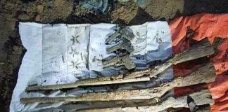চুনারুঘাটের সাতছড়িতে ৯টি বন্দুক ও ৩টি পিস্তলসহ গুলি উদ্ধার